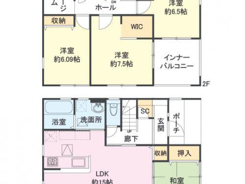 間取り図 4SLDK(間取)