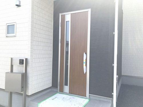 玄関扉はスマートコントロールキー♪(玄関)
