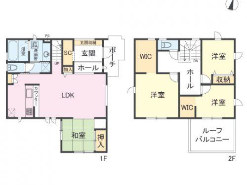 間取り図 4LDK(間取)