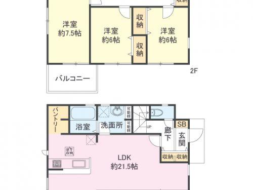 間取り図 3LDK(間取)