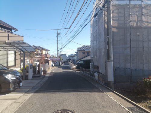 前面道路を含む現地写真(周辺)