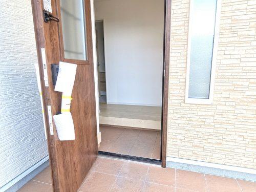 玄関扉スマートコントロールキー。(玄関)