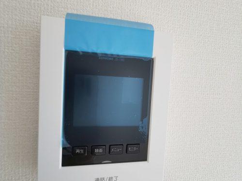 カラーTVインターホン録画機能付きなので安心です