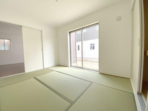和室入口は 2WAY♪廊下側からも リビング側からも入れます。