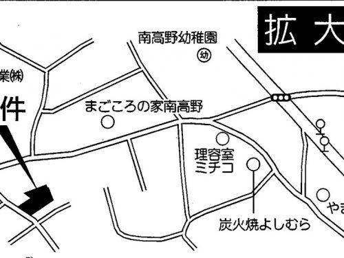 案内図(拡大)(地図)
