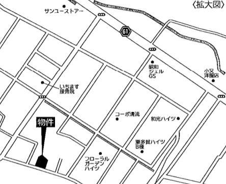 拡大図(地図)