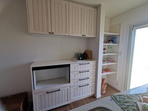 家電収納棚 パントリー(キッチン)