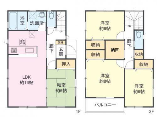 間取り図 4LDK+S(間取)