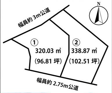 東金沢町 土地 ①